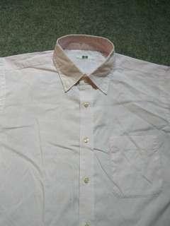 UNIQLO Check Shirt Long Sleeve Size M