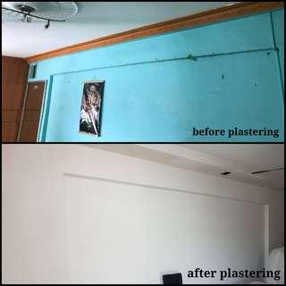 Plastering + Painting + Electrical Package