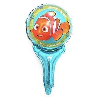 (7/1) Handheld balloons : Nemo theme balloon (under the sea animal)
