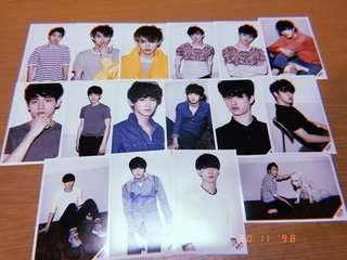 EXO-K, Xiumin & Kris Everysing Photocards