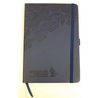 Singapore Airline A5 Moleskine Ruled Notebook (Hard Cover)