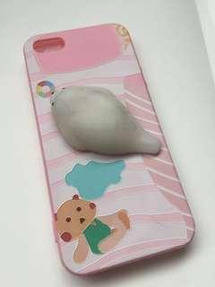 iPhone 5/5s Cute Seal Squishy Phone Case