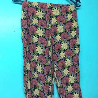 Topshop floral pants