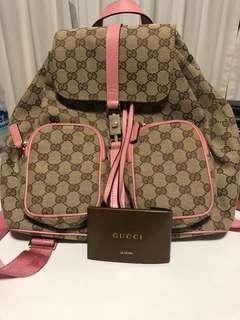 aa8cb702c737 gucci backpack authentic | Luxury | Carousell Singapore