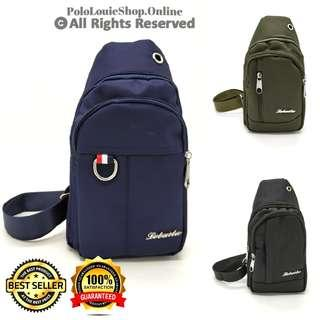Stylish Waterproof Canvas Chest Pouch Shoulder Sling Bag Man Crossbody Bag
