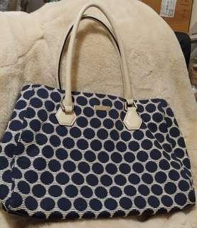 100% New 全新 Kate Spade 波點 手袋 可上膊 肩 handbag