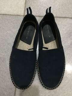 Sepatu Espadrille Zara suede