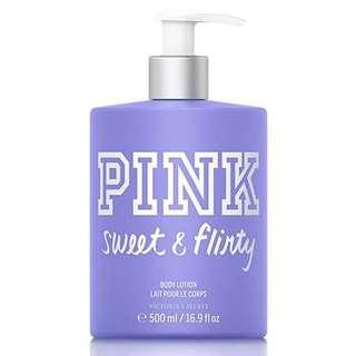 Victoria Secret Pink Lotion - Sweet and Flirt