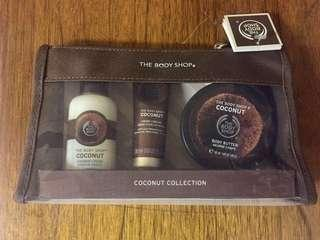 Body Shop Coconut Collection