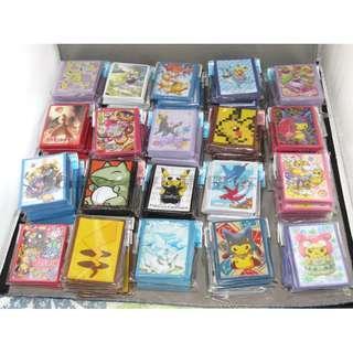 Pokemon Center 日本原裝進口 各款卡套現貨發售