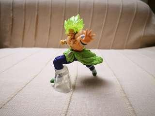 Legendary super Saiyan Broly gashapon from Japan, Dragon ball