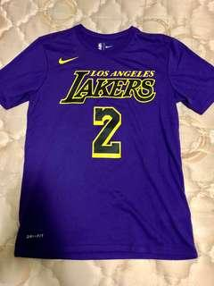 Nike Los Angeles Lakers Lonzo Ball Dri-Fit Tee