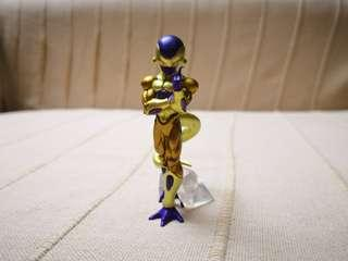 Golden Frieza gashapon from Japan, Dragon ball