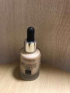 Catrice HD liquid coverage foundation 24H #020 Rose beige