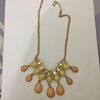 guess fashion necklace #bersihbersih