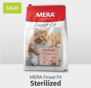 PROMO☆ MERA STERILIZED CAT HEALTH FOOD 4KG with FREE HOME DELIVERY.