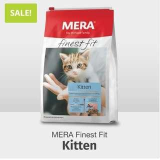 PROMO☆ MERA KITTEN DRY FOOD 4KG with FREE HOME DELIVERY.