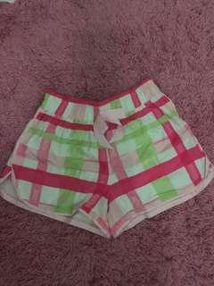 Pink Short with Ribbon