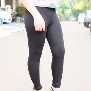 Legging Spandex Hitam