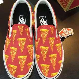 ( LOOKING FOR ) Pizza Designed Vans Slip On