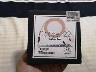 ALO audio Copper 22 Earphone cable