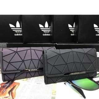 Adidas trefoil wallet
