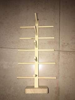 飾物架 飾品 木製 收納