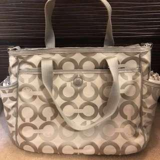 New Coach Baby Bag