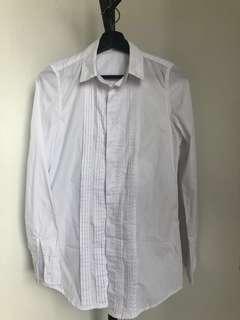 🚚 #換你的捐款發票 Starmimi長版法式多摺襯衫上衣