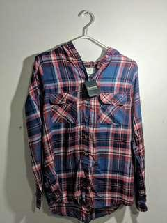 Bluenotes Hooded Flannel