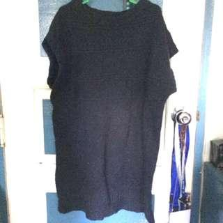 AUTHENTIC! Uniqlo Black Knit Dress