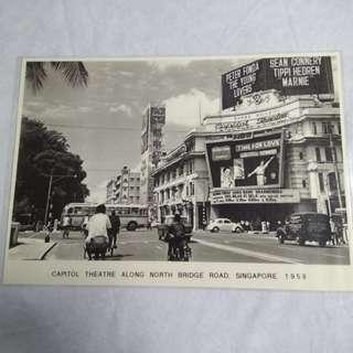 Pictures of Olden Days Singapore (Laminated)