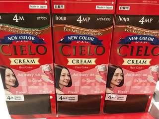 Hoyu Cielo Cream hair color