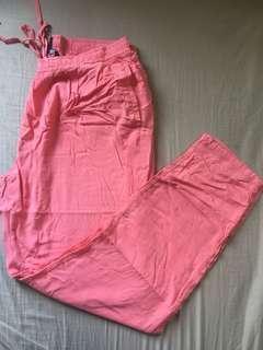 Mango Comfy Sweet Pink Pants