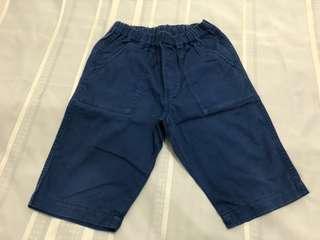 Size L:  Uniqlo Navy Blue Easy Shorts