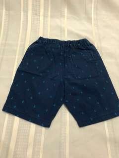 Size L:  Uniqlo Anchor Easy Shorts