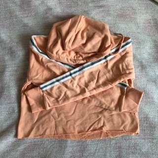 Pretty Little thing cropped hooded jacket