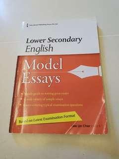 Lower Secondary English Model Essays