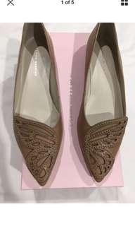 BNIB Sophia webster bibi leather butterfly flats sz 40