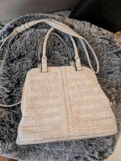 NWOT grey purse