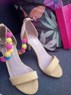 So Fab Yellow Sandals