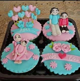 Cupcake lucu homemade