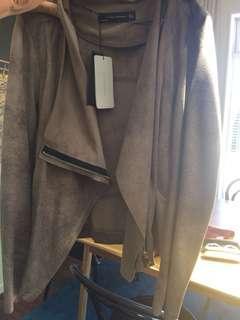 Brand new Zara suade jacket