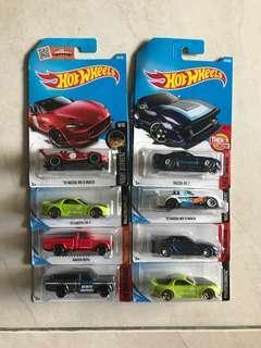 Hot Wheels Mazda Lot