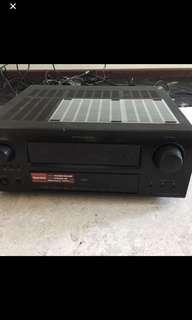 Denon AVR3808 surround sound amplifier