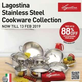 Giveaway: Lagostina Stainless Steel Cookware Collection Bonus Point  #Blessing