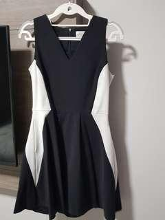 [Preloved] The Blush Inc Monochrome Dress