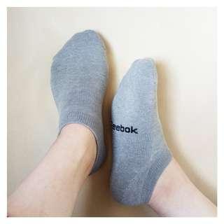 REEBOK Ankle Sport Performance Sock Kaos Kaki Olahraga Abu Hitam
