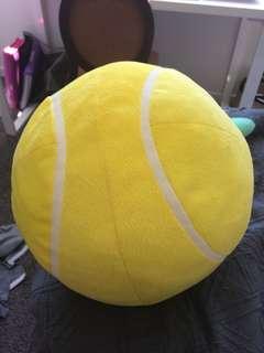 Brand new tennis ball cushion/soft toy