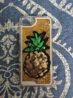 Pineapple Glitter Shifting 5, 5S iPhone Case